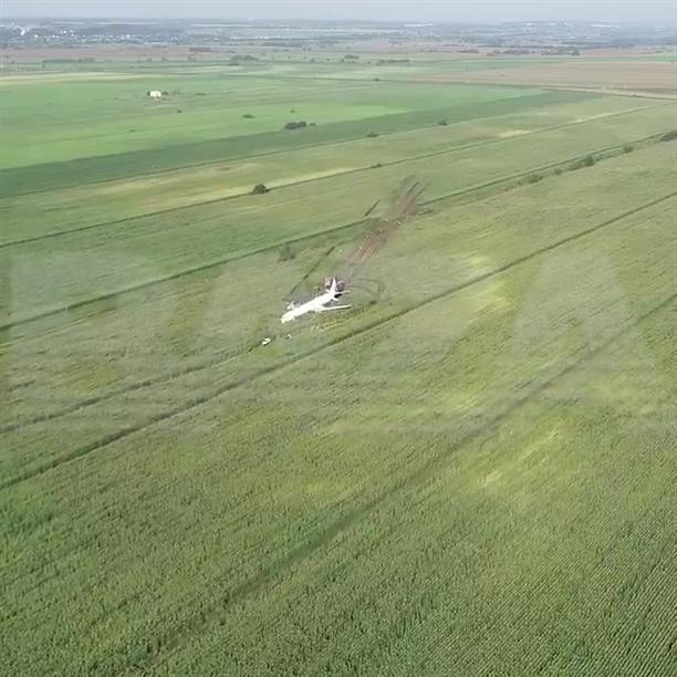 Αναγκαστική προσγείωση αεροσκάφους στη Ρωσία