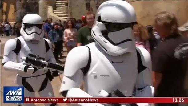 """Αυλαία για το Πάρκο """"Star Wars"""" της Disney"""