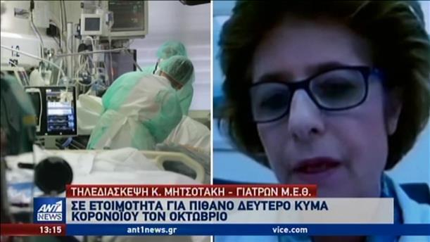 Τηλεδιάσκεψη Μητσοτάκη με επικεφαλής ΜΕΘ δημόσιων νοσοκομείων