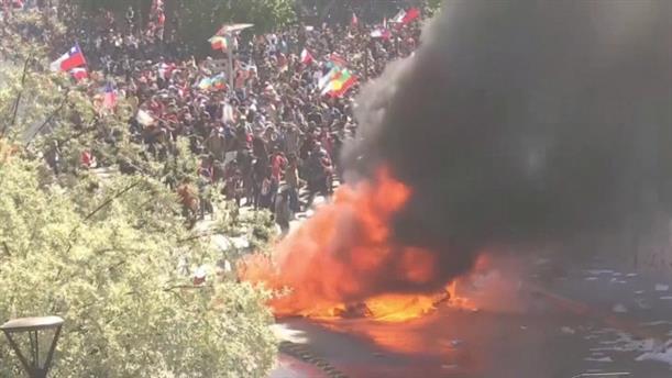 Εκτός ελέγχου η κατάσταση στη Χιλή