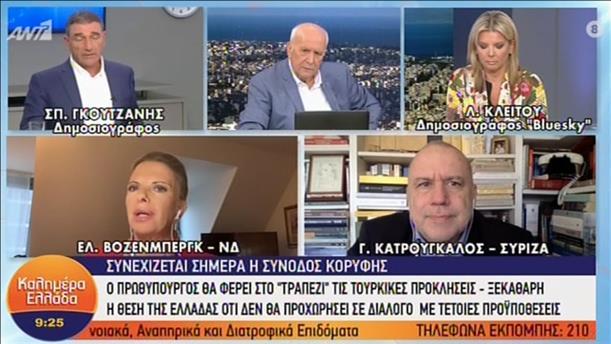 """Βόζενμπεργκ - Κατρούγκαλος στην εκπομπή """"Καλημέρα Ελλάδα"""""""