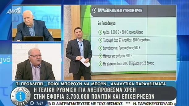 Πρωινό ΑΝΤ1 – Εκπομπή - 13/03/2015