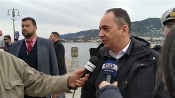 Πλακιωτάκης: Η προστασία των θαλασσίων συνόρων της πατρίδας μας είναι απόλυτη εθνική προτεραιότητα