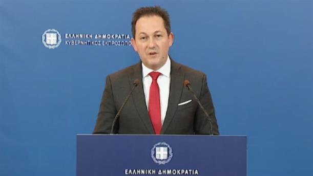 Δηλώσεις Πέτσα για την σύσταση Υπουργείου Μετανάστευσης και Ασύλου