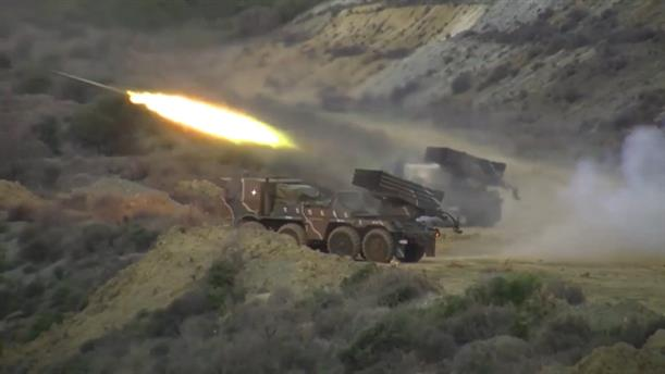 Βολές Πυροβολικού Μάχης στο Πεδίο Βολής Πετρωτών
