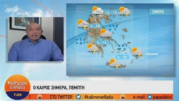 ΚΑΙΡΟΣ – ΚΑΛΗΜΕΡΑ ΕΛΛΑΔΑ - 31/01/2019
