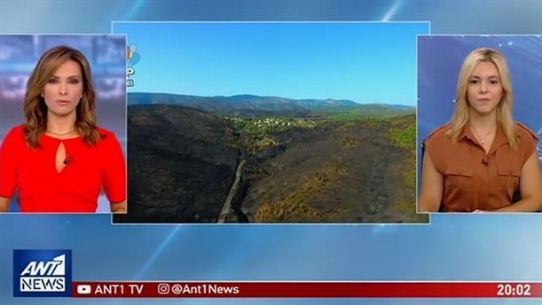Αποκαρδιωτικές εικόνες από τις περιοχές που σάρωσε η φωτιά στην Εύβοια