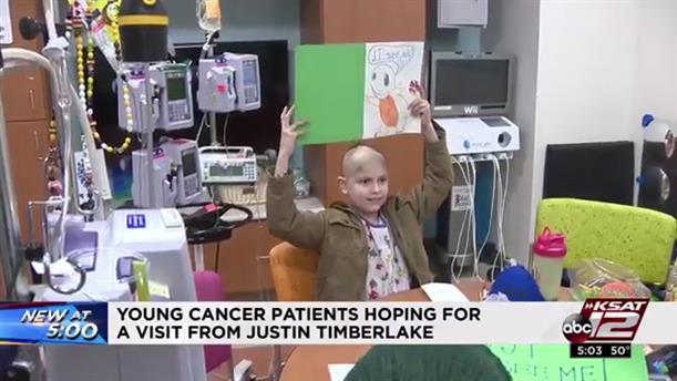 Έκκληση παιδιών με καρκίνο στον Τζάστιν Τίμπερλεϊκ να τα επισκεφθεί