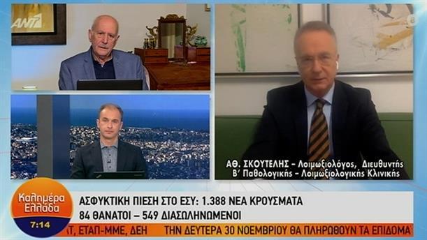 Αθανάσιος Σκουτέλης – ΚΑΛΗΜΕΡΑ ΕΛΛΑΔΑ – 24/11/2020