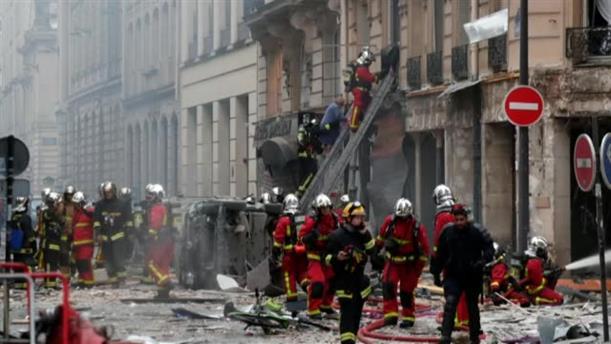 Μεγάλη έκρηξη σε φούρνο στο Παρίσι