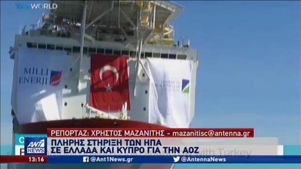 Ηχηρό μήνυμα ΗΠΑ στην Τουρκία
