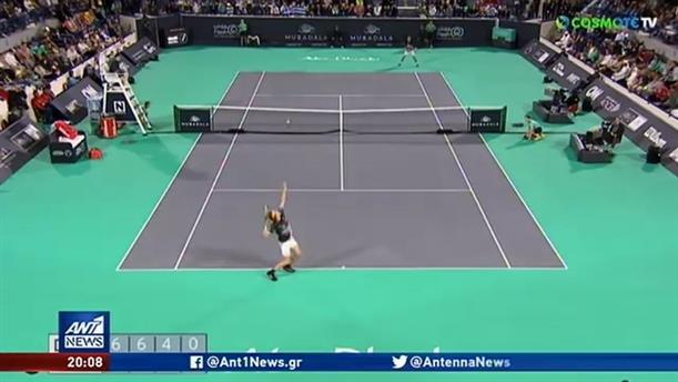 MWTC: Ο Τσιτσιπάς νίκησε τον Τζόκοβιτς και πέρασε στον τελικό