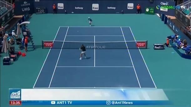 Miami Open: ήττες για Σάκκαρη και Τσιτσιπά