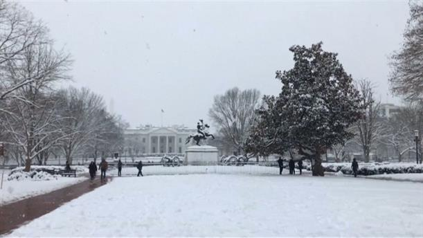 Λευκό τοπίο η Ουάσιγκτον