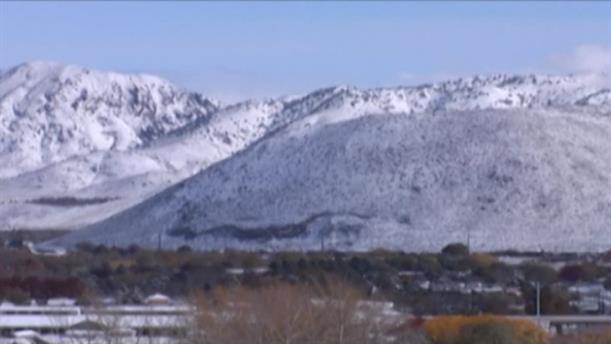 Χιόνισε στη Νεβάδα