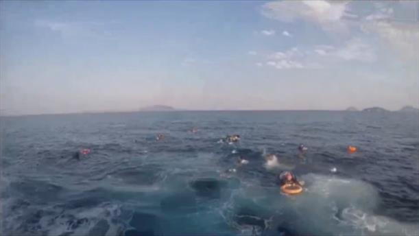 Ανατροπή πλοίου στην Αλικαρνασσό