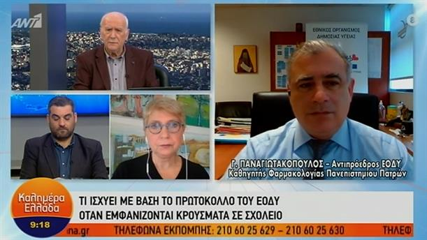 Γιώργος Παναγιωτακόπουλος - αντιπρόεδρος ΕΟΔΥ – ΚΑΛΗΜΕΡΑ ΕΛΛΑΔΑ - 02/02/2021
