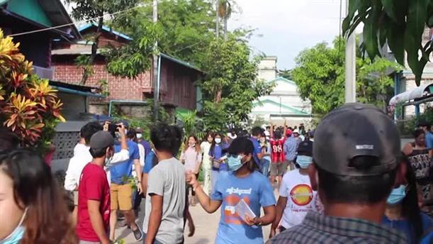 Μιανμάρ: Βίαιη καταστολή των αντιχουντικών διαδηλώσεων