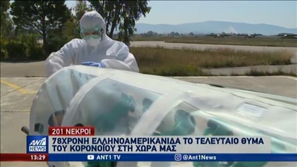 Κορονοϊός: Κατέληξε γυναίκα στην Κρήτη