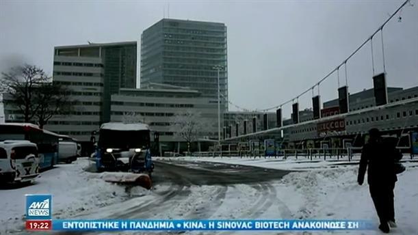 Στο έλεος του χιονιά Γερμανία και Ολλανδία