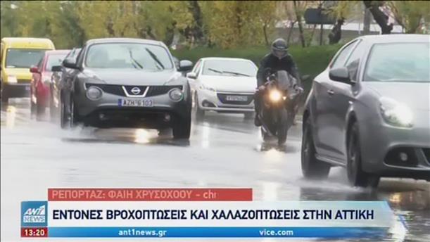Στην δίνη της κακοκαιρίας πολλές περιοχές της Ελλάδας