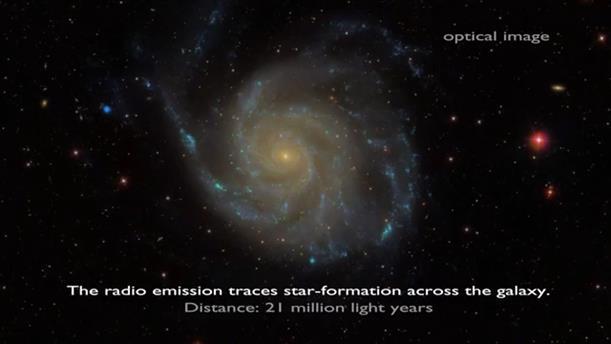 «Ζουμ» σε γαλαξίες με το ραδιοτηλεσκόπιο LOFAR