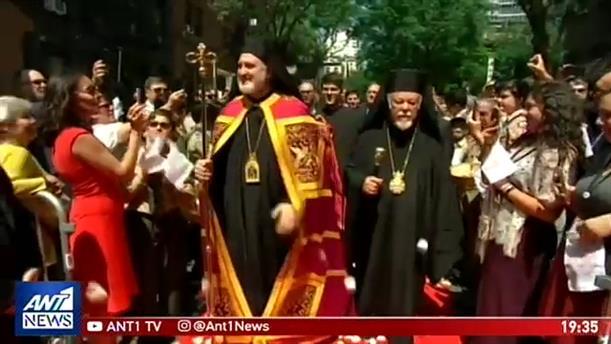 Με λαμπρότητα και κατάνυξη η ενθρόνιση του Αρχιεπιισκόπου Ελπιδοφόρου