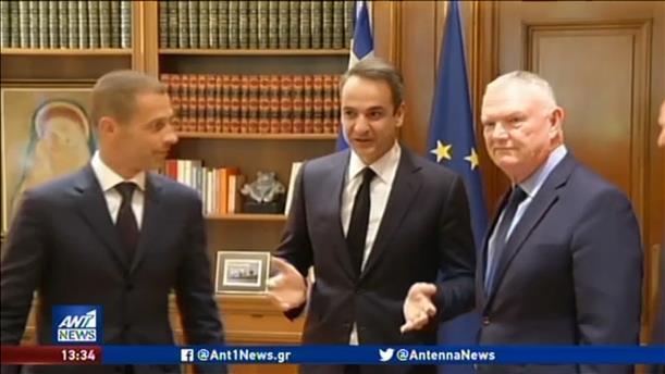 Ο Πρωθυπουργός υπέγραψε το μνημόνιο με UEFA – FIFA