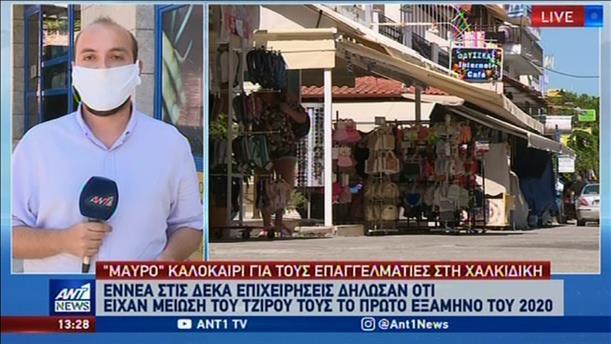 Οι συνέπειες της πανδημίας στις επιχειρήσεις της Χαλκιδικής