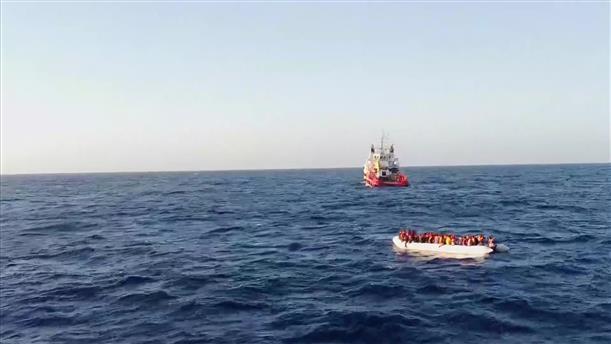 Πλοίο για τη διάσωση μεταναστών στη Μεσόγειο έβγαλε ο Banksy