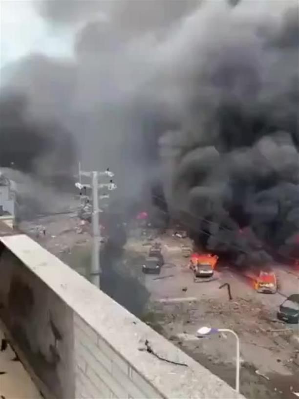 Πολύνεκρη έκρηξη σε φορτηγό