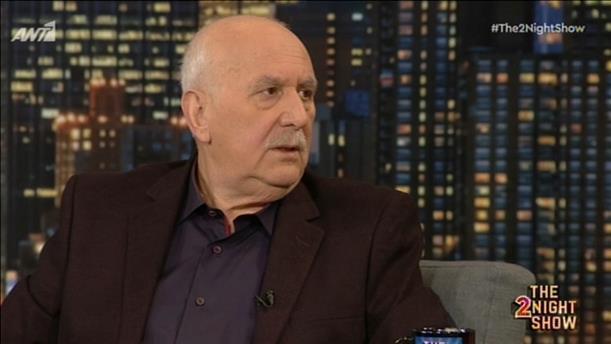 Ο Γιώργος Παπαδάκης στο «The 2Night Show»
