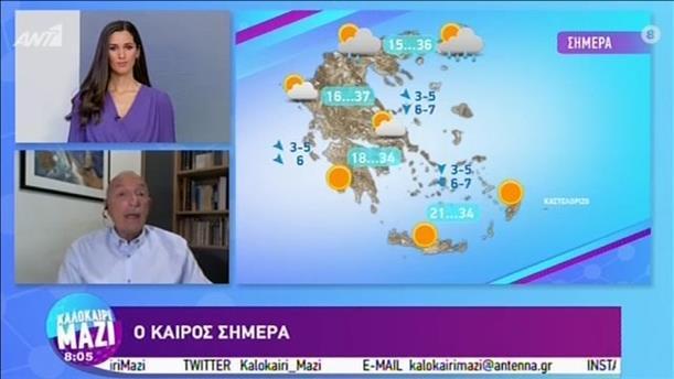 ΚΑΙΡΟΣ – ΚΑΛΟΚΑΙΡΙ ΜΑΖΙ - 04/09/2020