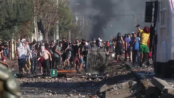 Nέος γύρος ταραχών στη Χιλή