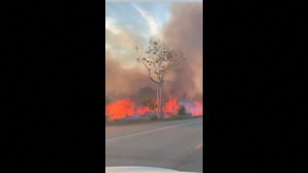 Βίντεο με την πυρκαγιά που καίει το δάσος του Αμαζονίου