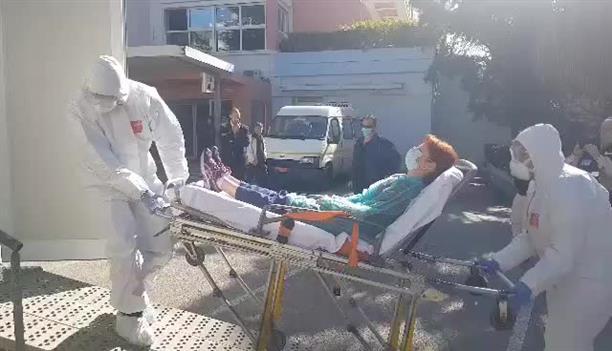 Άσκηση για κορονοϊό στο νοσοκομείο Αγλαϊα Κυριακού