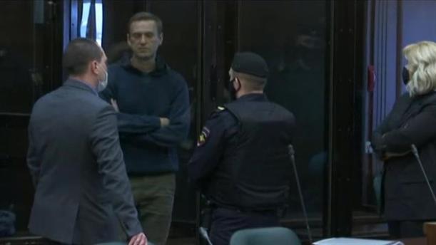 Στο δικαστήριο ο Αλεξέι Ναβάλνι