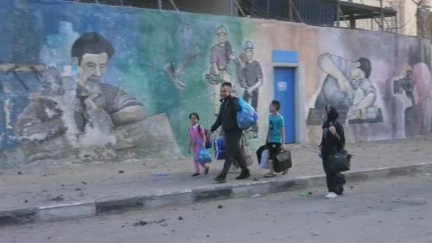 Λωρίδα της Γάζας: Καταστροφές μετά τον βομβαρδισμό από το Ισραήλ