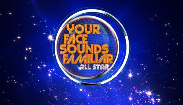 YOUR FACE SOUNDS FAMILIAR ALL STAR LOGO