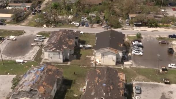 Το καταστροφικό πλήγμα του κυκλώνα Ντόριαν στις Μπαχάμες