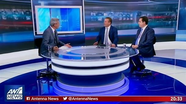 Πετρόπουλος-Μηταράκης στον ΑΝΤ1 για τις εκλογές της 7ης Ιουλίου