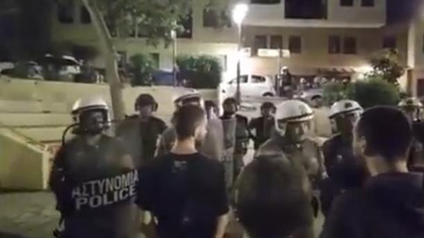 Ένταση σε πλατεία στην Θεσσαλονίκη