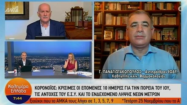 Γιώργος Παναγιωτακόπουλος – ΚΑΛΗΜΕΡΑ ΕΛΛΑΔΑ – 13/11/2020