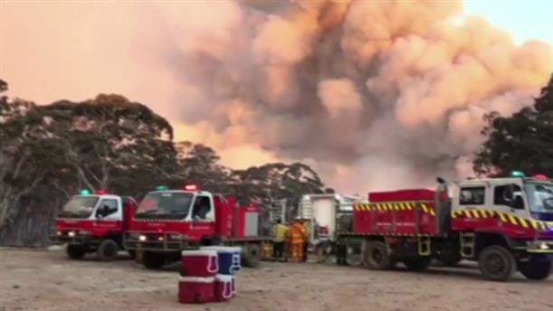 Φωτιές κατακαίνε την Αυστραλία
