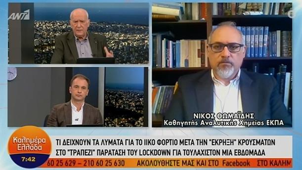 Νίκος Θωμαΐδης - Καθηγητής Αναλυτικής Χημείας ΕΚΠΑ – ΚΑΛΗΜΕΡΑ ΕΛΛΑΔΑ - 24/02/2021