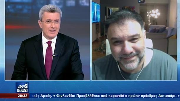 Μένουμε σπίτι: ο Γρηγόρης Αρναούτογλου, ο Νίκος Χατζηνικολάου και η… γυμναστική!
