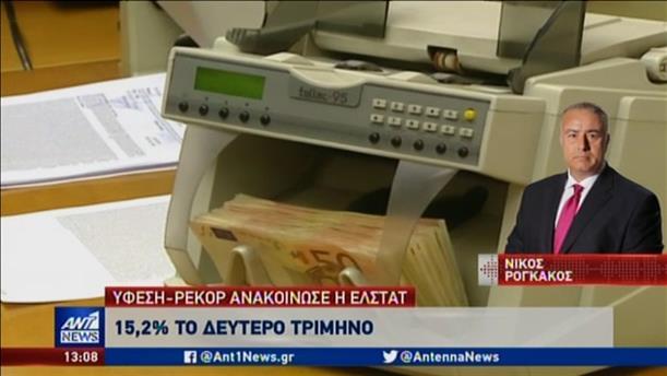 Σοκ από την ύφεση στην Ελλάδα λόγω κορονοϊού