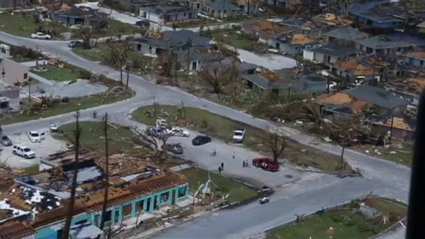 Τεράστια η καταστροφή στις Μπαχάμες από τον τυφώνα Ντόριαν