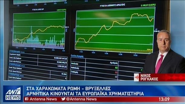 Κλυδωνισμοί στις αγορές, λόγω του ιταλικού Προϋπολογισμού