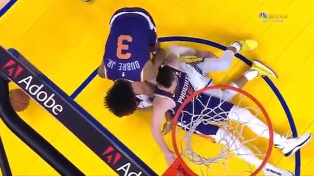 NBA: Η στιγμή που ο Στεφ Κάρι έσπασε το χέρι του